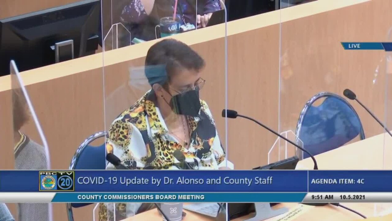 Palm Beach County health director Dr. Alina Alonso gives a COVID-19 update on Oct. 5, 2021.jpg