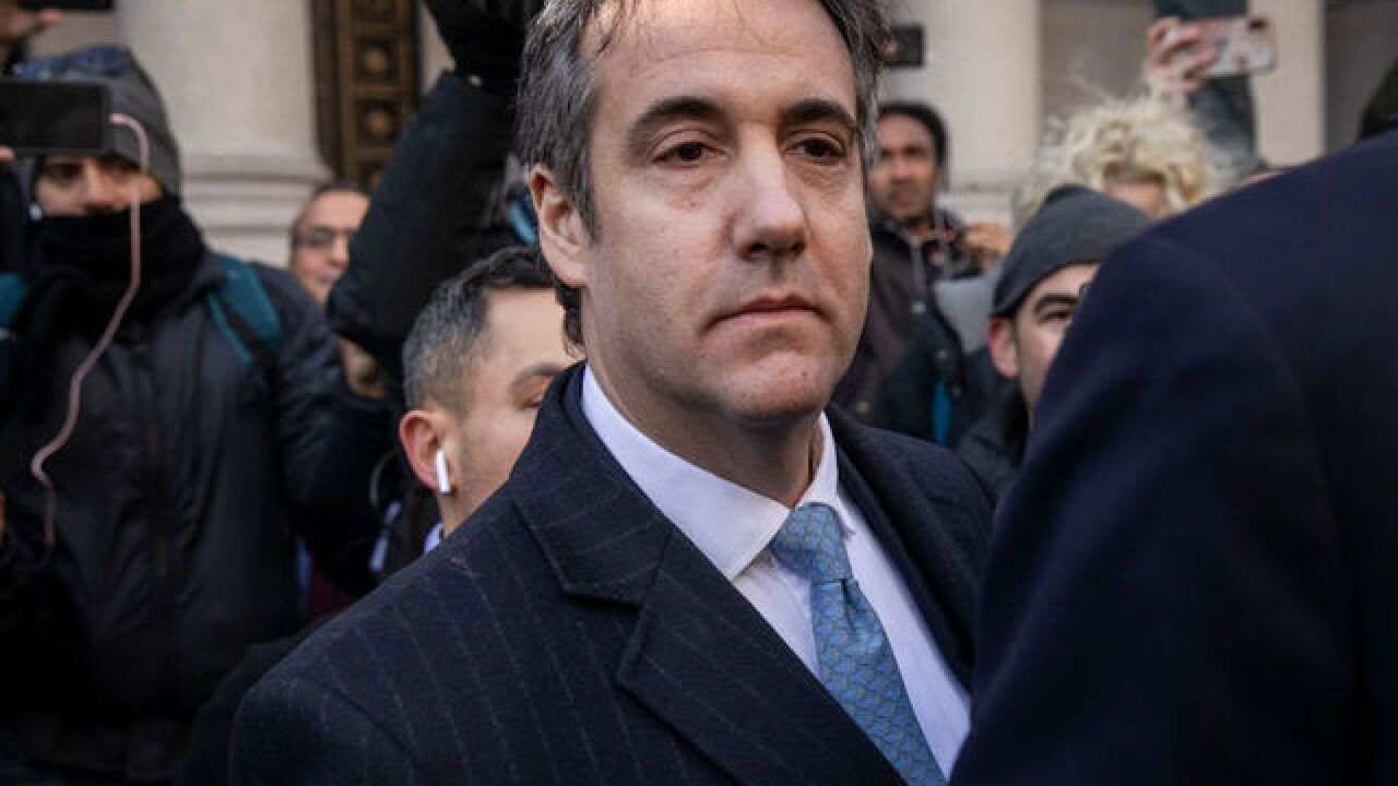 Michael Cohen's lawyers ask for no prison time for their client in sentencing memo