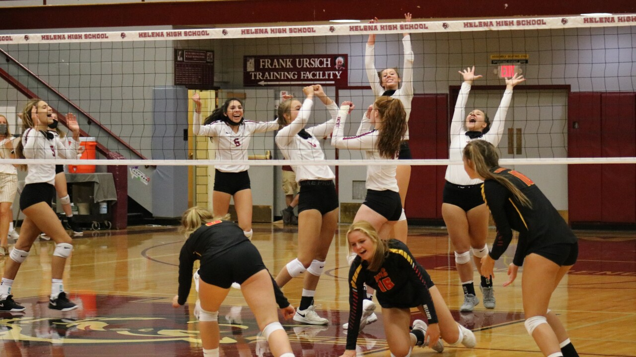 Helena High volleyball downs Hellgate in season opener