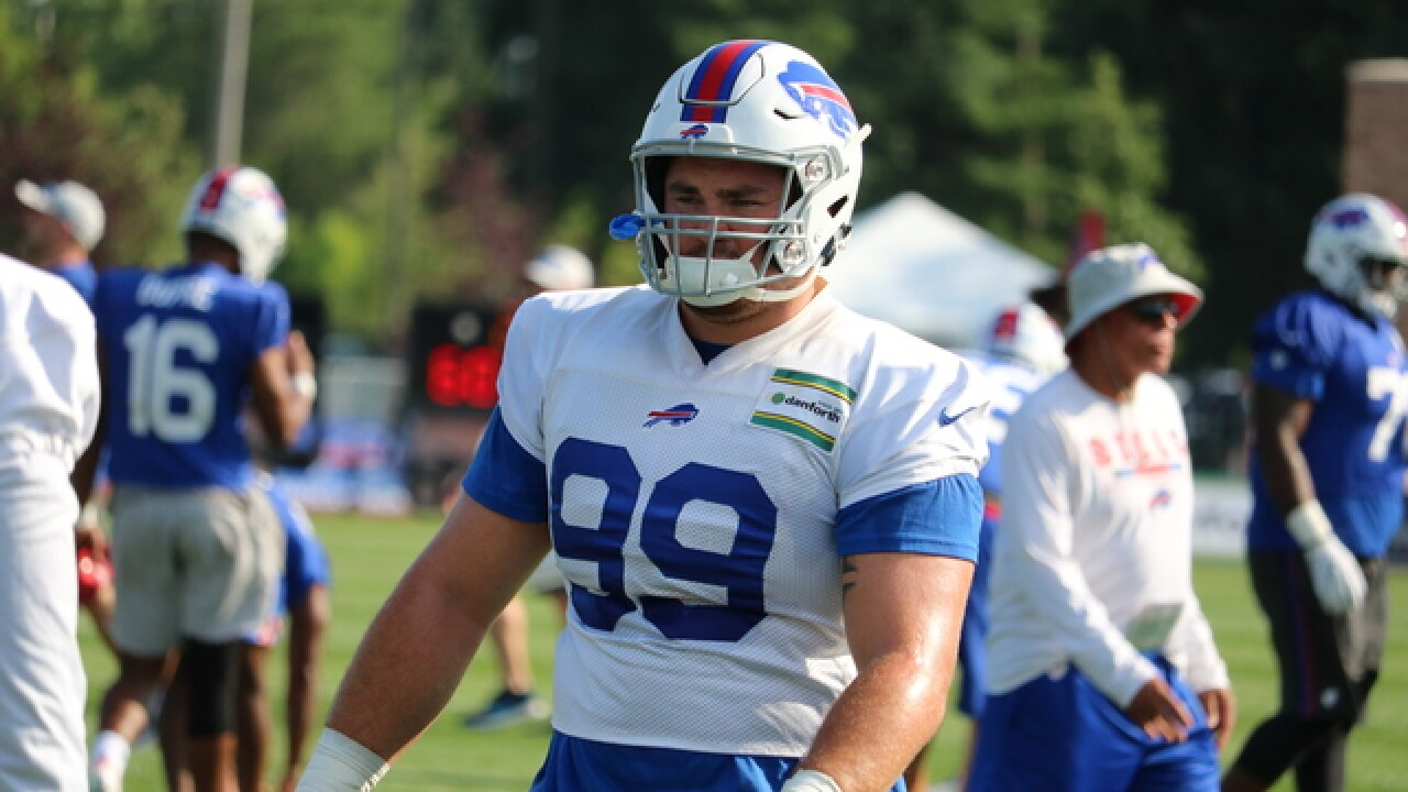 Joe B: 7 observations from 2018 Buffalo Bills training camp - Day 4