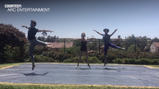 Ballet dancers quarantined together to provide Memorial Day entertainment