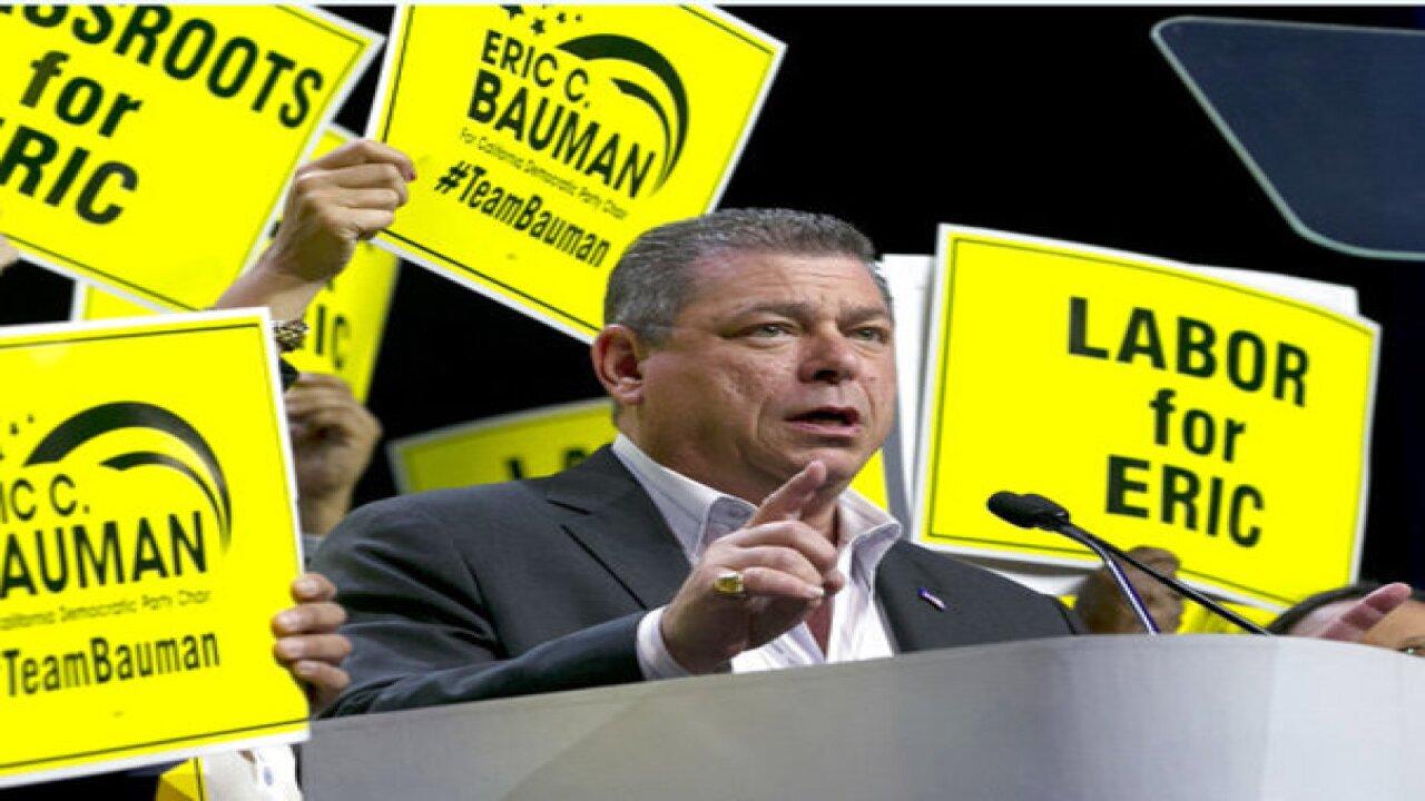 CA Democratic chair race angers 'Berniecrats'