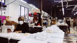 Detroit Sewn masks