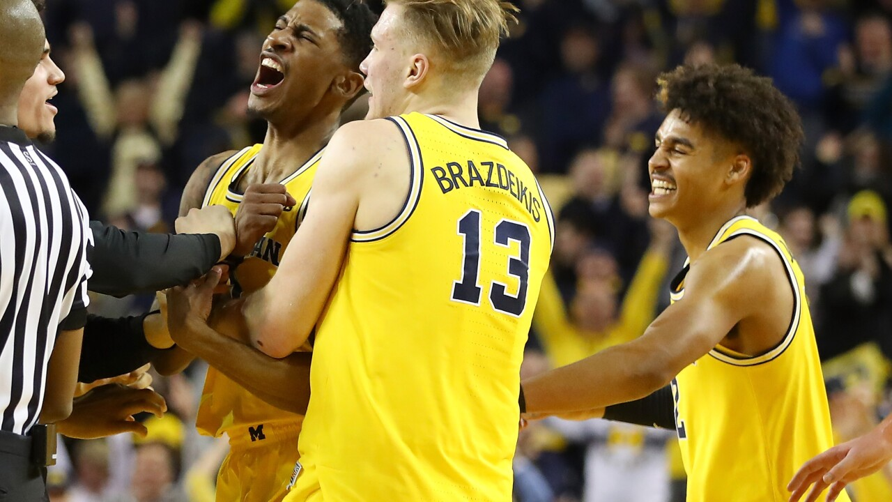 Michigan Wolverines Matthews, Poole and Brazdeikis declare for NBA draft