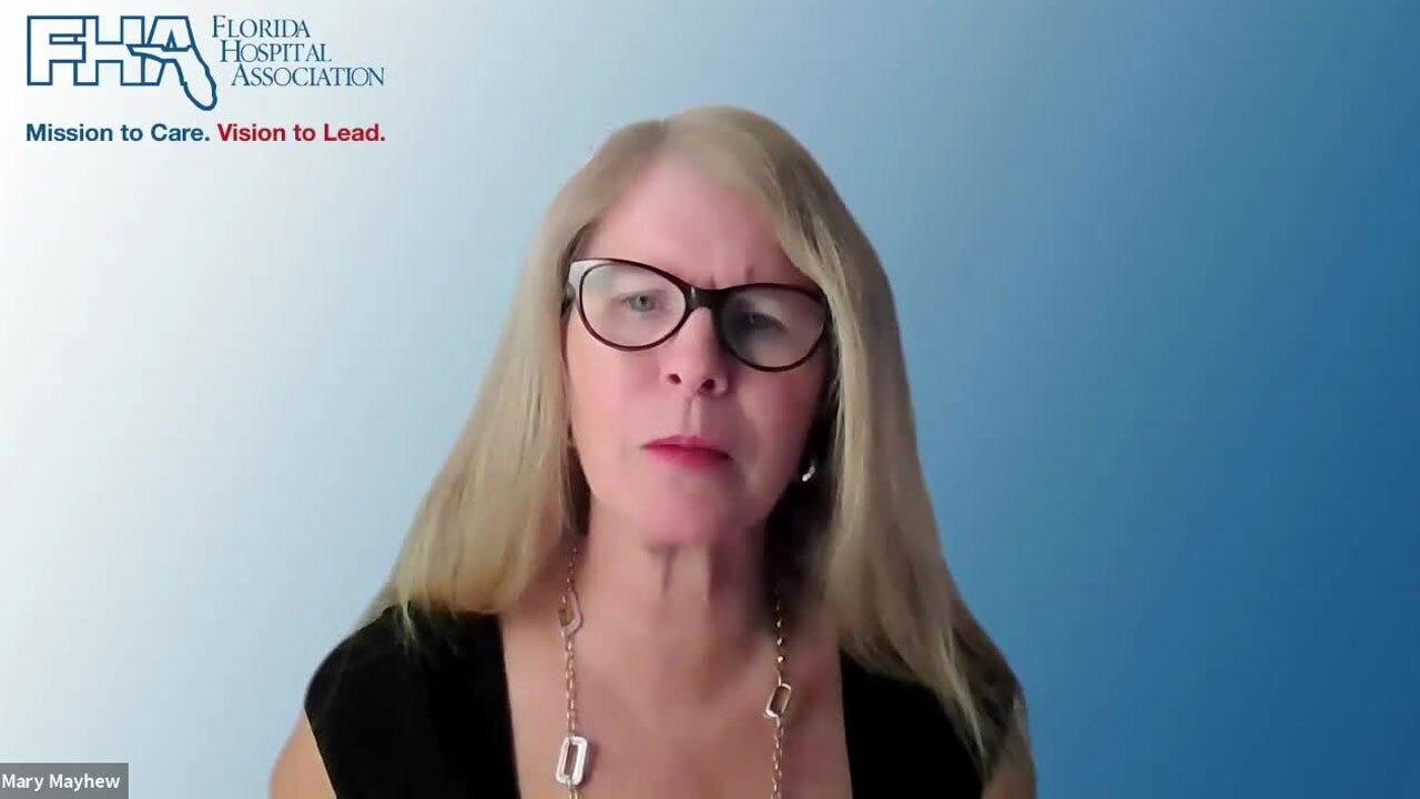 Dr. Mary Mahew, Florida Hospital Association