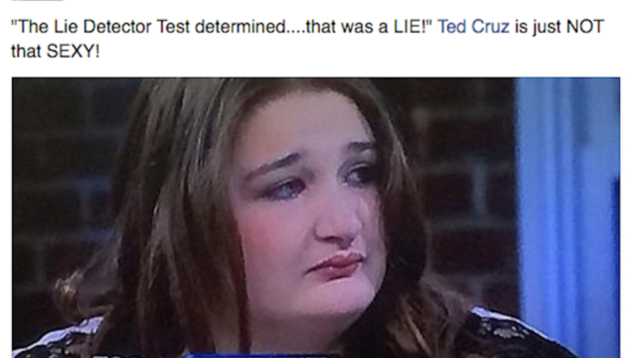 'Maury' woman joins list of Ted Cruz lookalikes