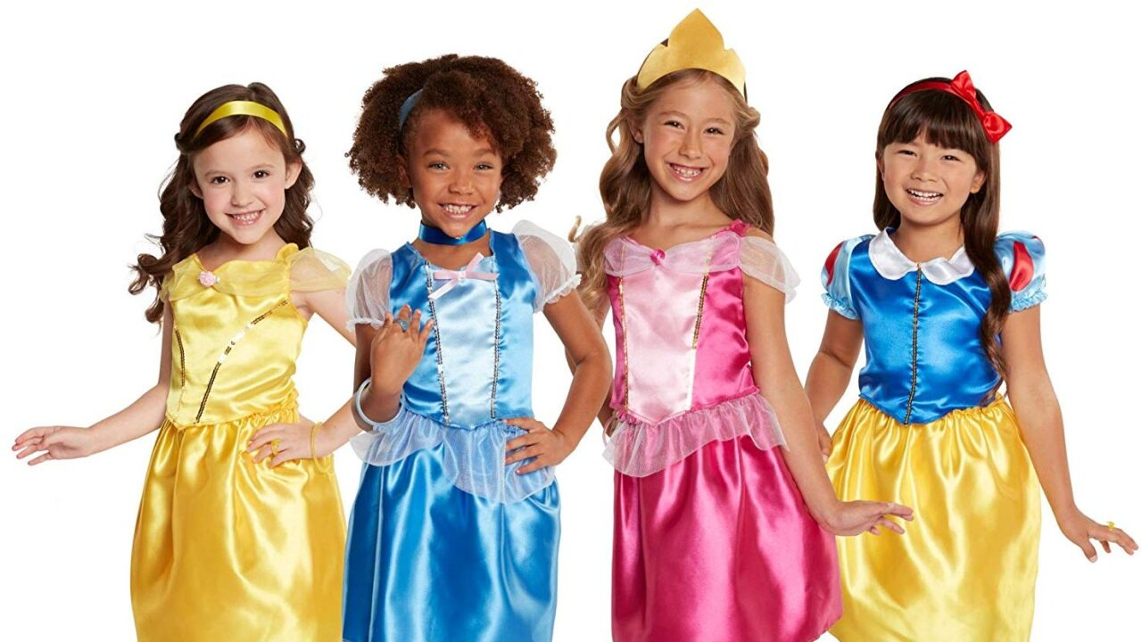 You can buy a trunk full of Disney princess costumes—and it's only $35