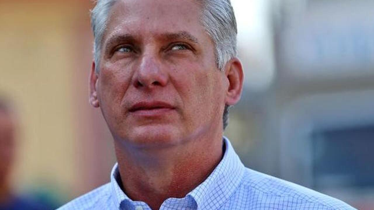 Miguel Diaz-Canel named Cuba's new president