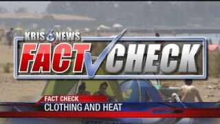 Fact Check: Does light-colored clothing keep you cool?