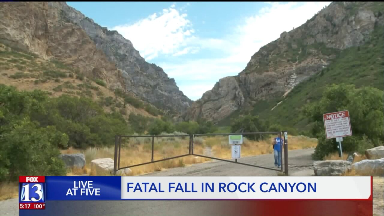 Provo man dies after fall while hiking Rock Canyon, Provo