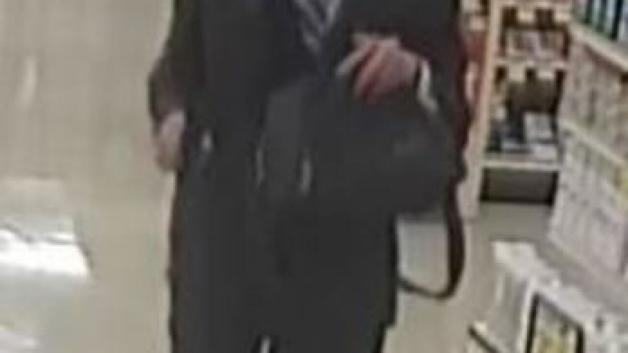 Police looking for well-dressed bank robber