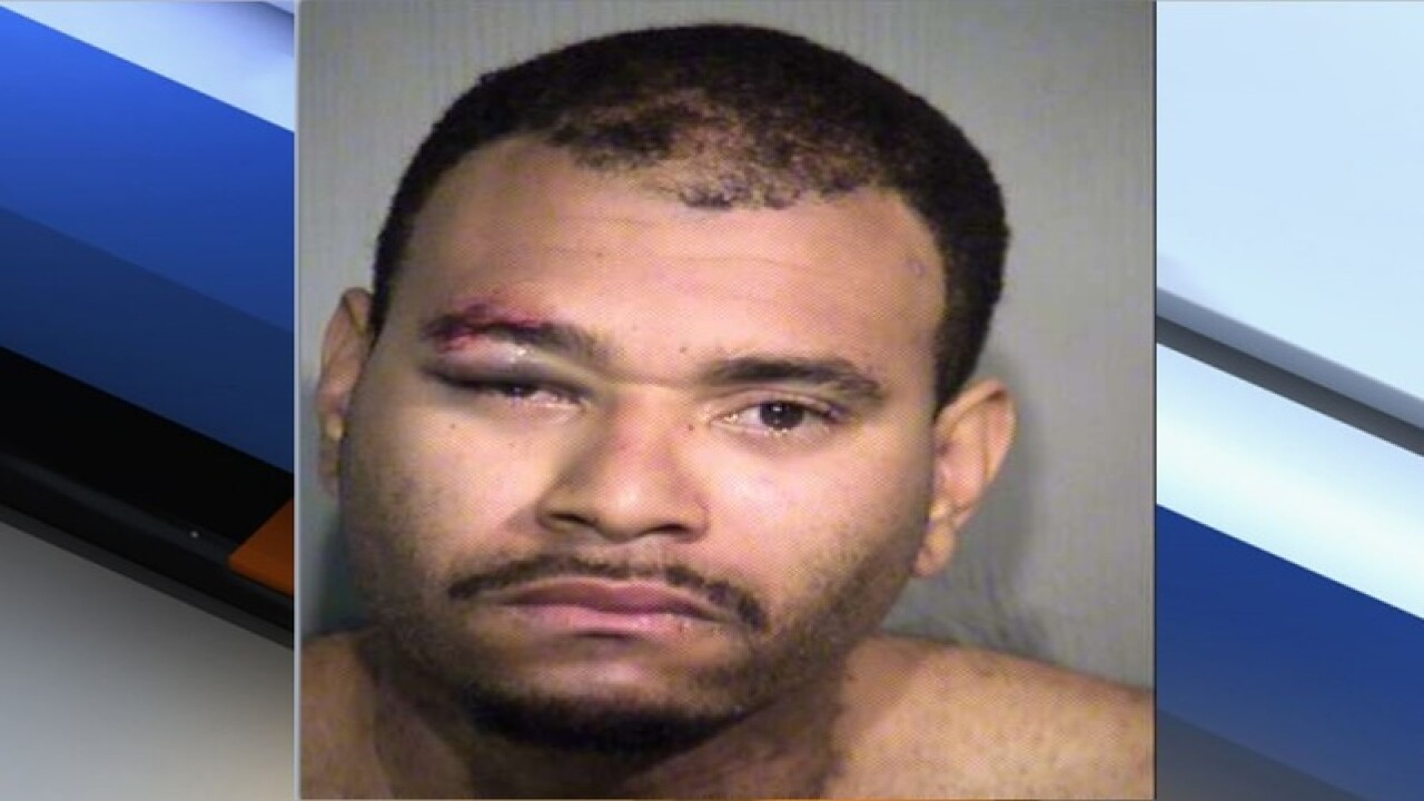 PD: Phoenix man threatened with 30-inch sword