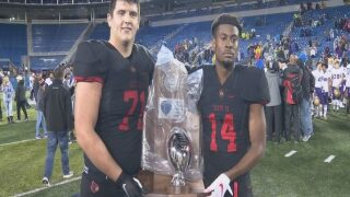 Scott Co. Falls to Male 37-20 in 6A State Championship