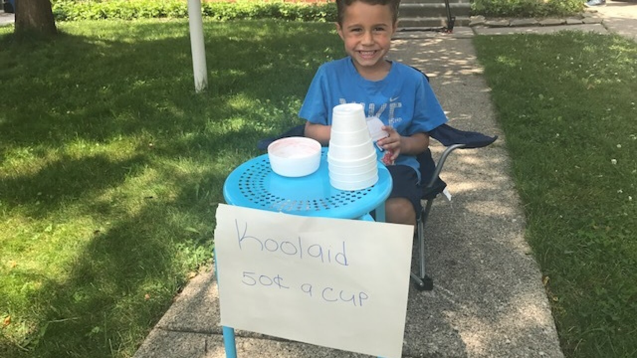 Mailman leaves $20, note for boy after drink