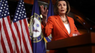 Speaker Pelosi Holds Weekly Press Conference Before House Votes On Impeachment