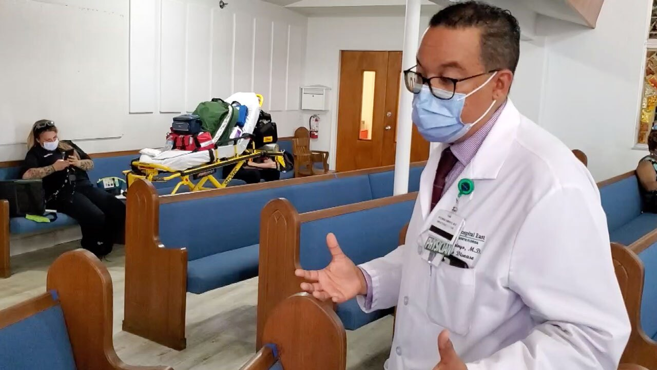 Dr. Kitonga Kiminyo, infectious disease specialist