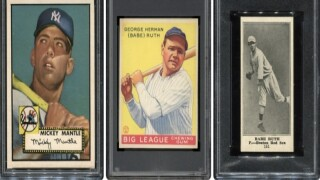 Card Collection Featuring Babe Ruth Could Smash Records At Auction