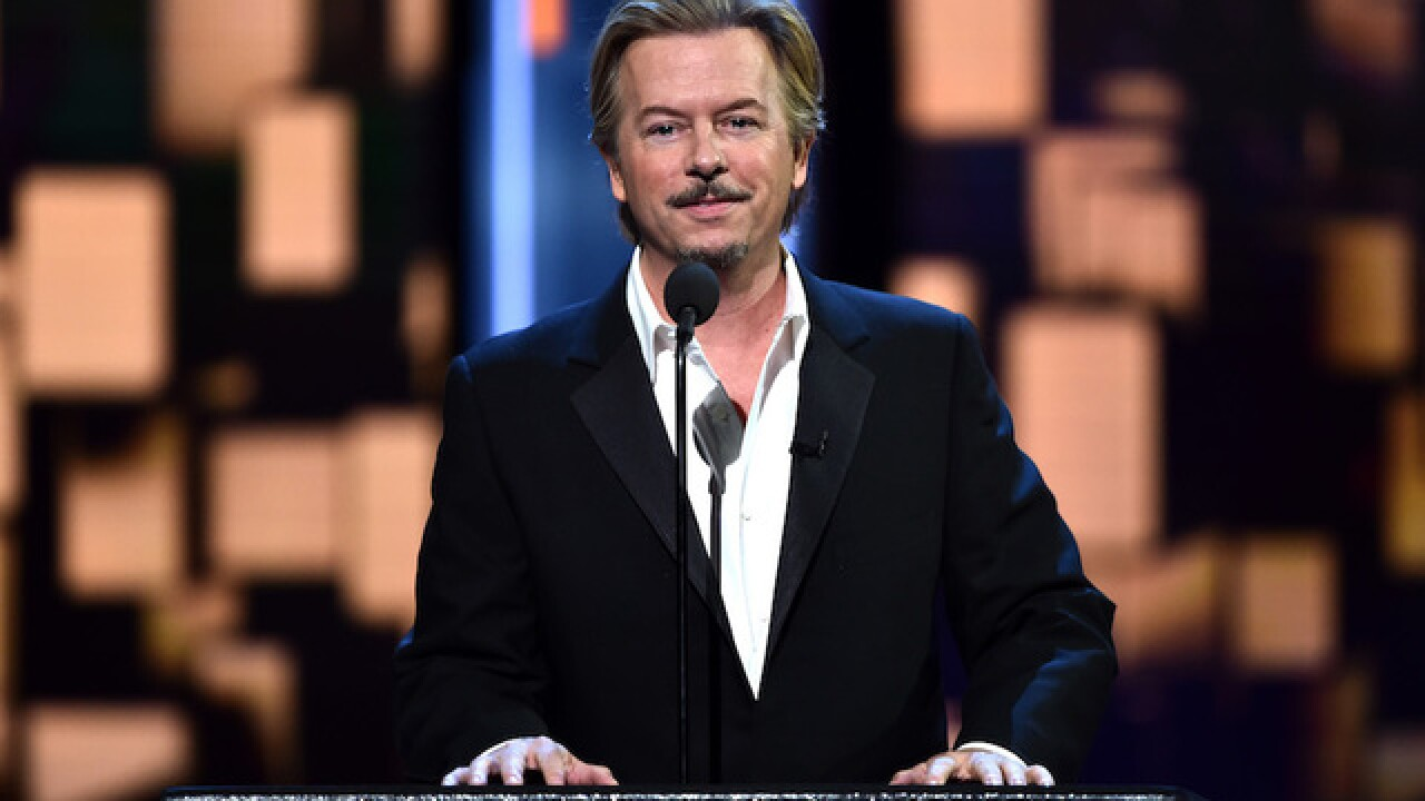 Actor David Spade in serious car accident