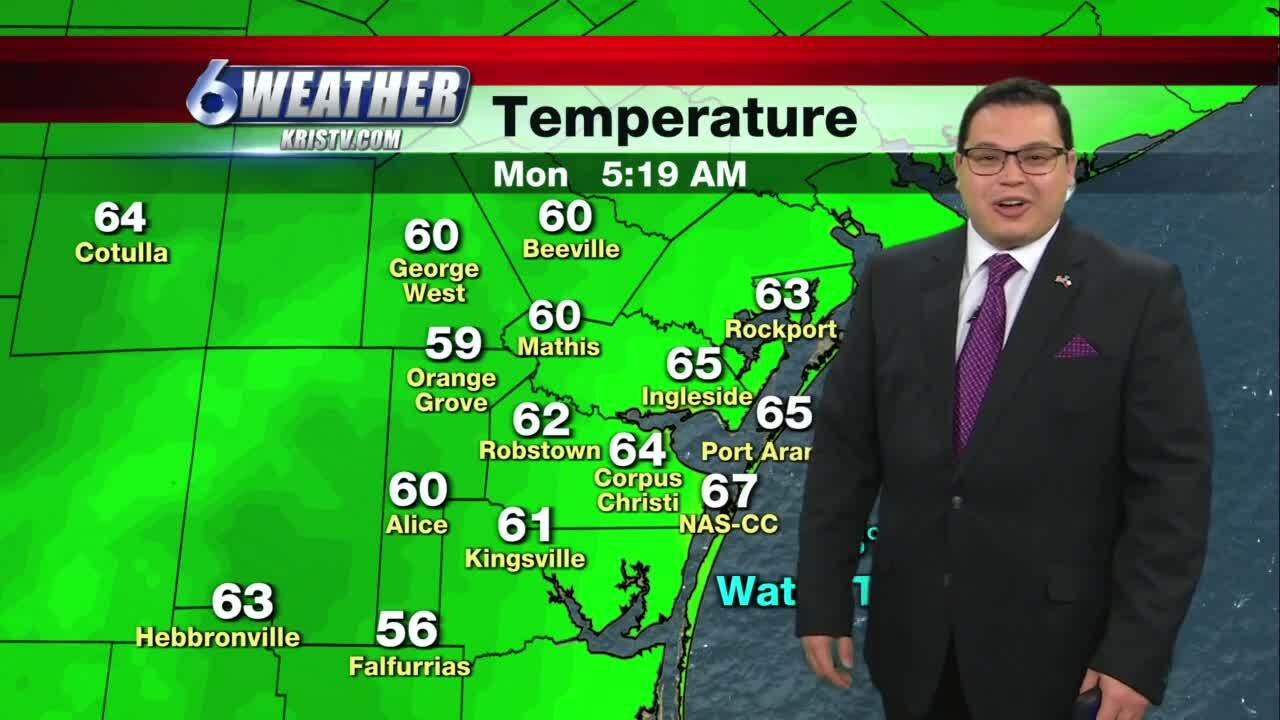 Juan Acuña's weather forecast for Dec. 28, 2020
