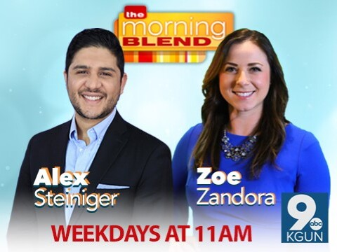 The Morning Blend with Alex Steiniger and Zoe Zandora