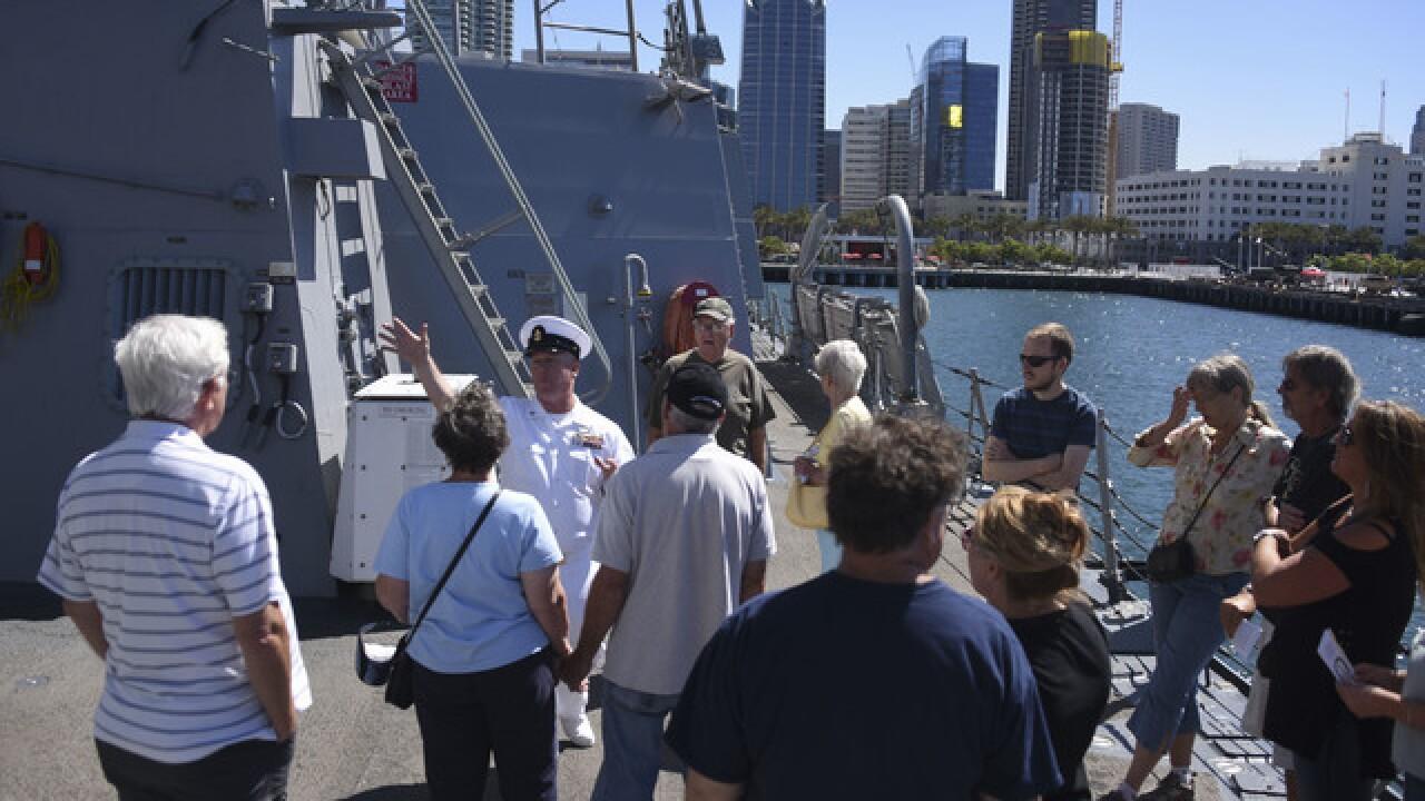 Fleet Week San Diego 2018 cruises into town