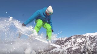 Your Healthy Family: Snowboard jumping, start small to avoid injury