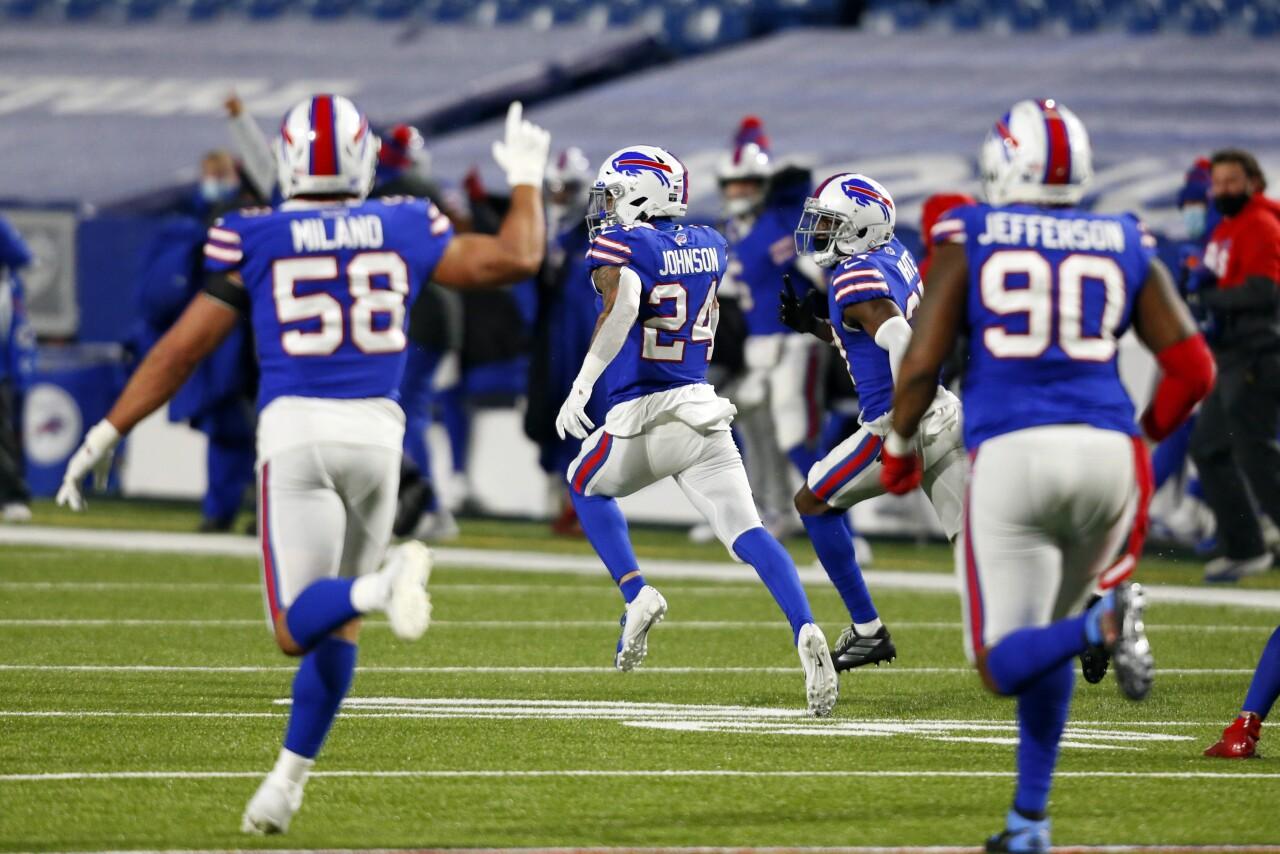 Taron Johnson's 'franchise-altering play' sends Bills to AFC Championship