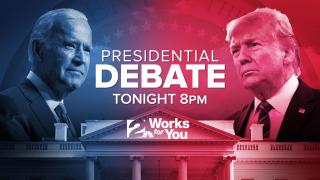 Presidential Debate between Trump, Biden