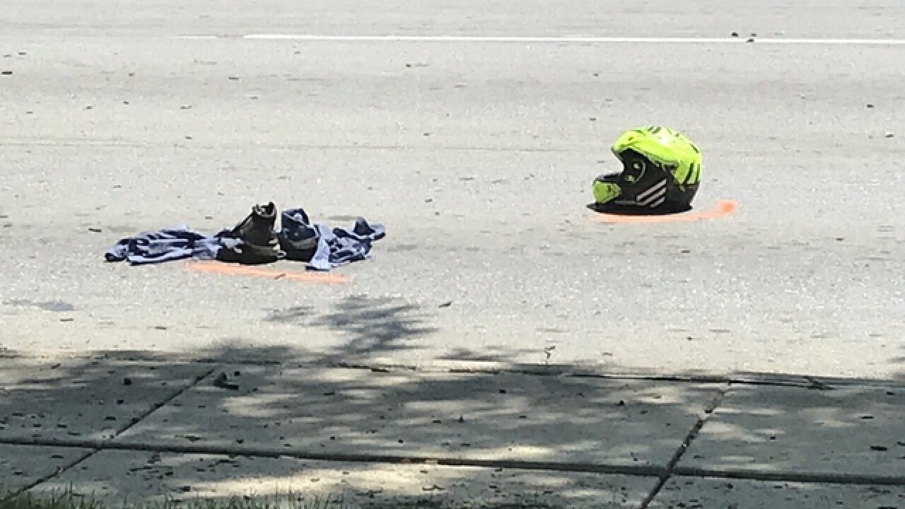 OPD: Speed a factor in fatal motorcycle crash at Saddle Creek Road