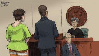 Brian Rini court sketch 2