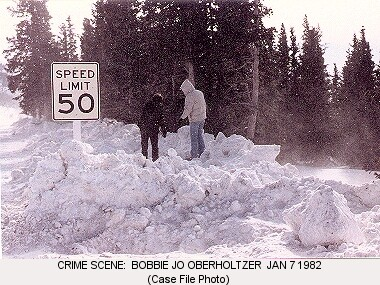 Bobbi Jo Oberholtzer crime scene Hoosier Pass