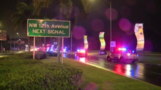 FHP trooper-involved shooting near I-95 in Delray Beach