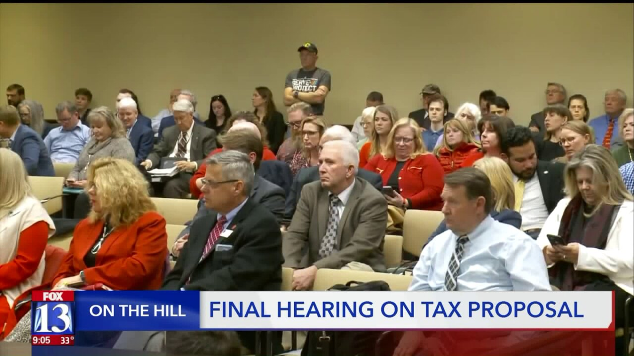 Days away from potential special session, public weighs in on Utah tax reform one last time