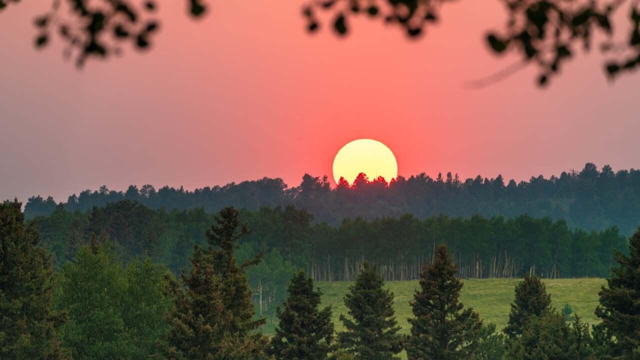 Woodland Park Sunset