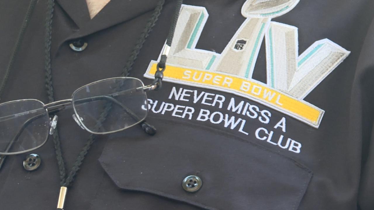 Super Bowl Club Patch