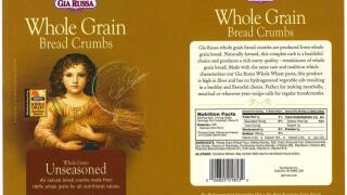 gia russa whole grain bread crumbs