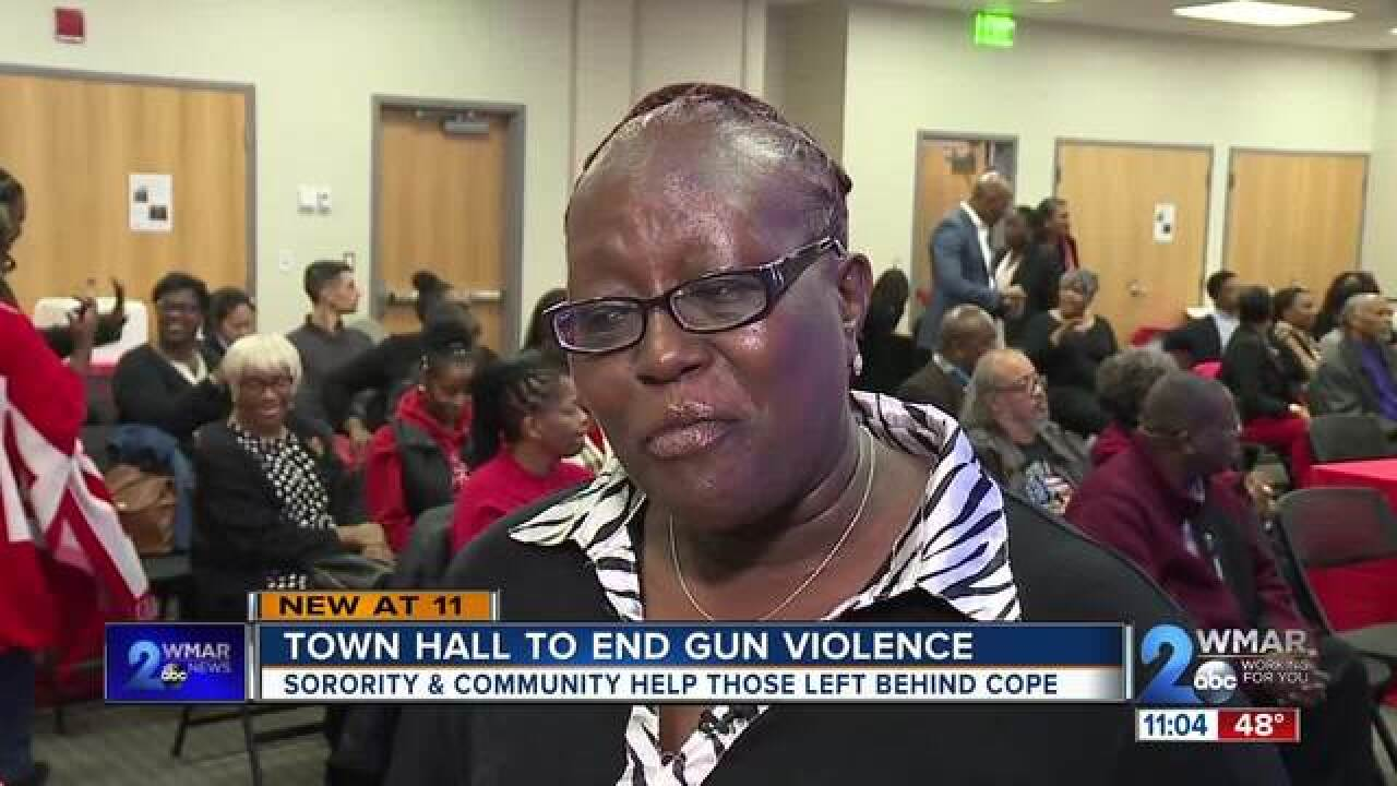 Town hall meeting to end gun violence
