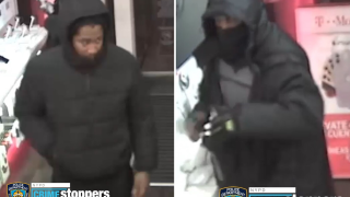 Footage of the two suspects (NYPD)