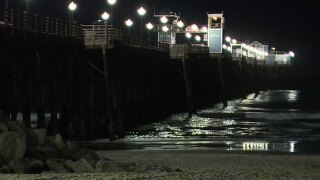 Search on for man who jumped from Oceanside Pier