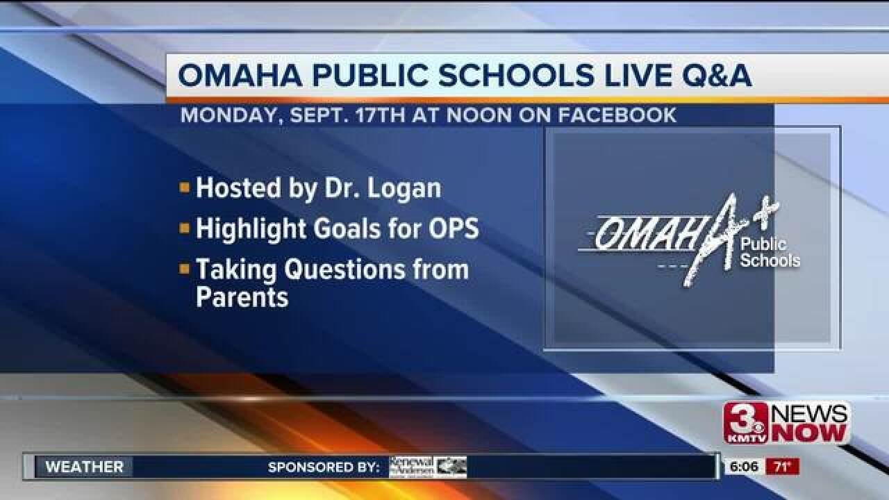 Omaha Public Schools hosting virtual town hall Monday