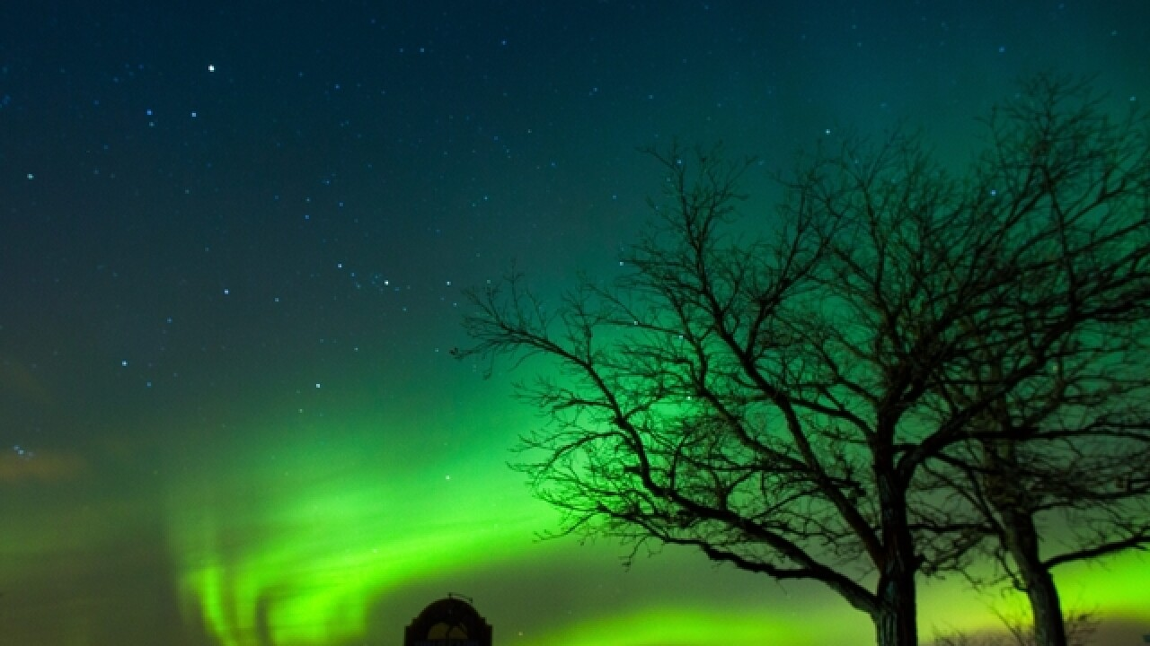 You may be able to see the Northern Lights in parts of Wisconsin tonight