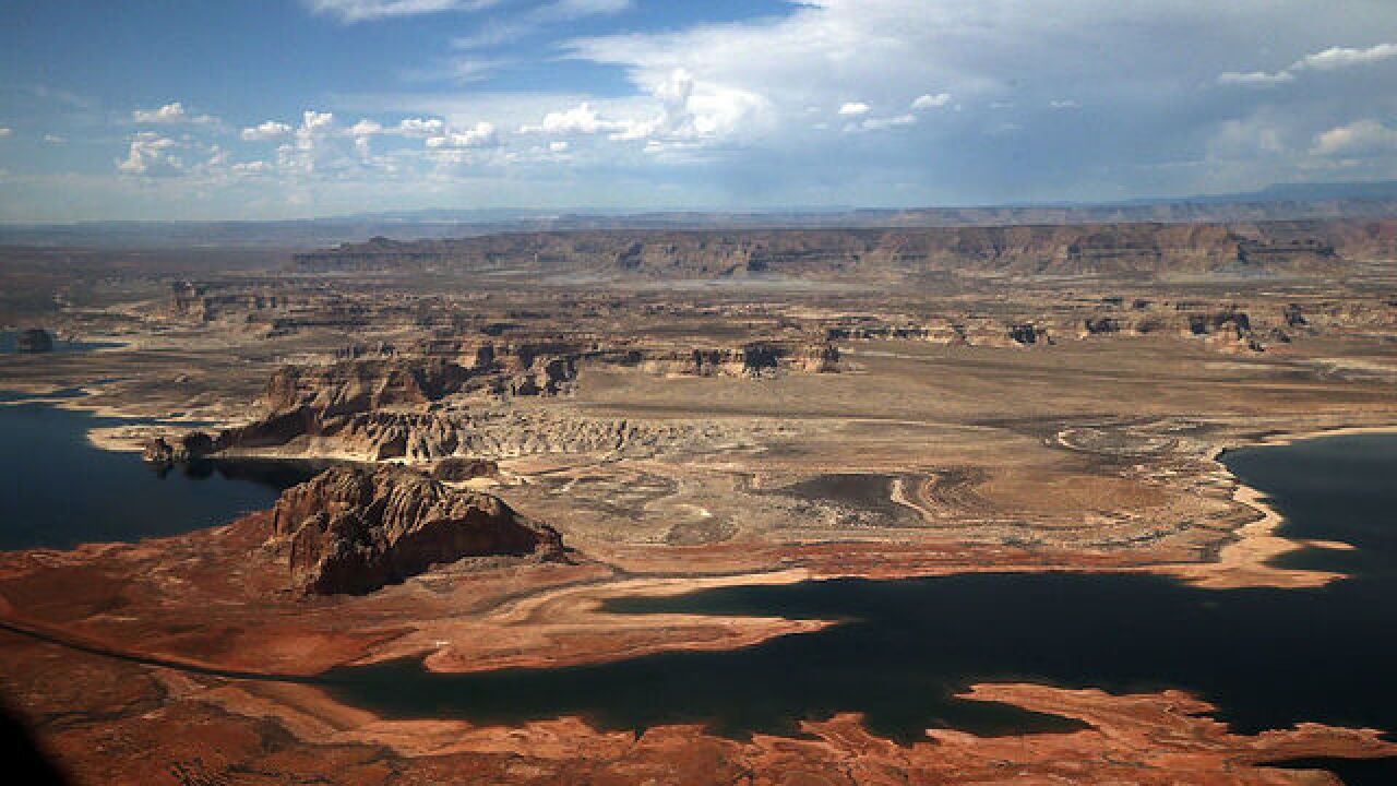 Water levels continue to drop at Lake Mead, Lake Powell