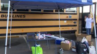 """Stuff The Bus"" school supply donation drive underway"