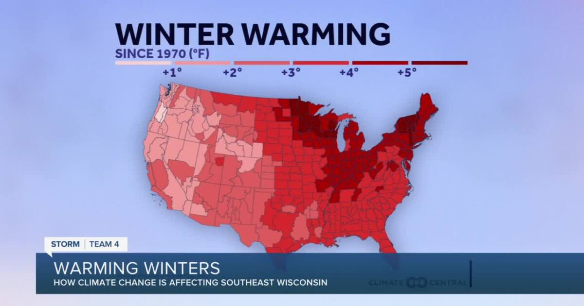 Warming winters: How climate change is affecting southeast Wisconsin