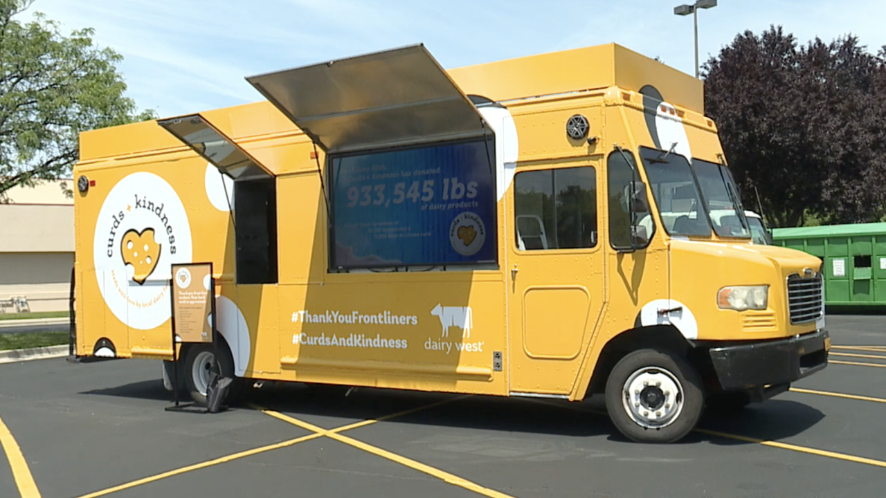 Curds + Kindness food truck