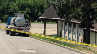 Goebel pool chemical accident