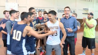 Steven Anaya the all around floor general for Shafter basketball; earns athlete of the week