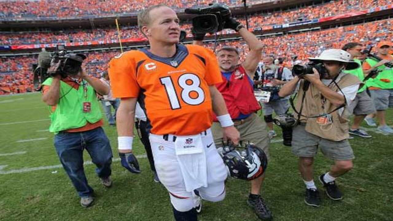 Cancer patient writes thank you letter to Peyton
