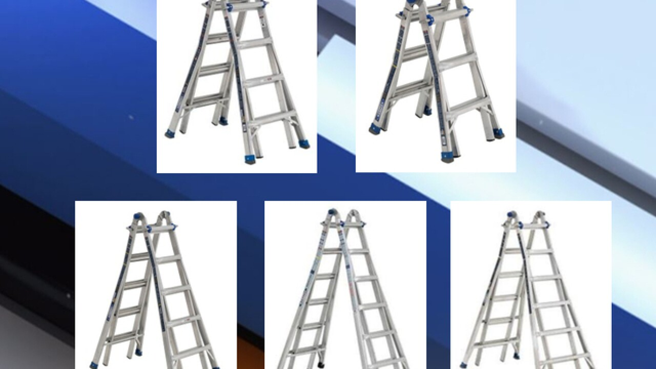 78,000 ladders sold at Home Depot and Lowe's recalled due to fall hazard