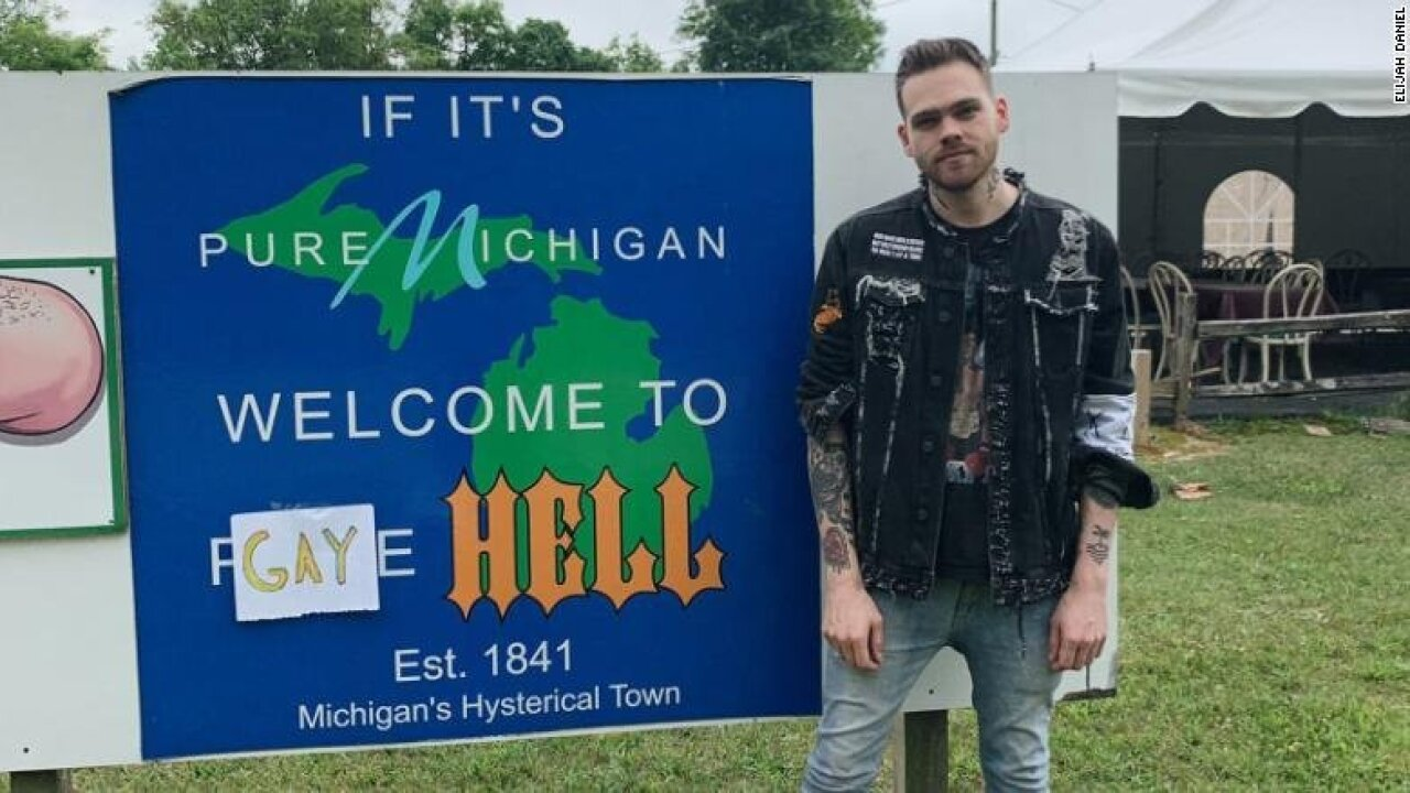 You are now in Gay Hell, Michigan: Hell, Michigan, renamed for Pride Month, says YouTube star